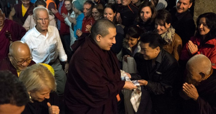 Gyalwa Karmapa Arrives to EC